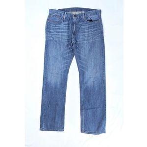 Levi's 514 Men's Medium Wash Jeans